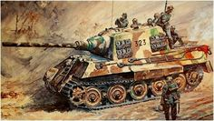 German Jagdtiger Henschel Turrett Battle of Germany