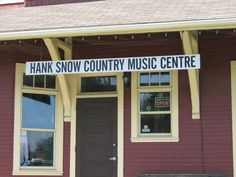 CNR Liverpool, Nova Scotia Station. Now the home of Hank Snow Music Centre.