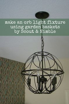 40 best orb light images do it yourself, transitional chandeliersdiy orb light fixture
