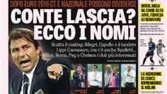 Rassegna stampa Italia: ecco il dopo Conte! Intanto Mancini prepara la trappola anti-Juventus - http://www.maidirecalcio.com/2015/10/13/rassegna-stampa-italia-ecco-il-dopo-conte-intanto-mancini-prepara-la-trappola-anti-juventus.html