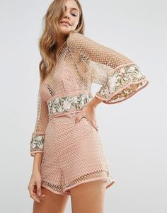 Alice McCall All Eyes On You Romper