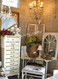 ChiPPy! - SHaBBy!  Monthly Sales at our Home April-September Historic Cedarburg, Wisconsin
