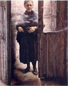 Eduardo Naranjo (b1944, monastery in Badajoz Province, Extremadura, Spain)