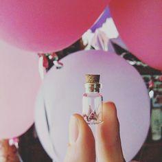 Крохотный журавлик   Lil' paper crane 🎈 #crane #pink #bottle  #handmadegifts