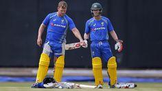Australia #cricketers counter CA XI in Matador #Cup