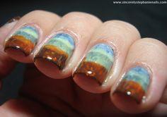 Pretty nails! !! ♥♥