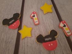 """Mickey Mouse Cookies """