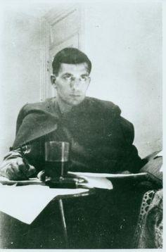 Jack Kerouac by Allen Ginsberg, 1944 or 1945.