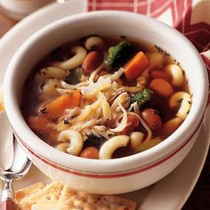 Chicken Vegetable Soup. This hearty chicken soup recipe is ready in less than 30 minutes.