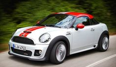 2012 Mini Cooper S Coupe. I luv these cars. Roadsters, coupes, fast....love 'em all.