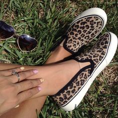 Lovin' the leopard print, @supermom43837. Paired with jeans and a white button-up or with chic sweats and a tee, a slip-on sneaker like this will kick up your whole look—so rad.