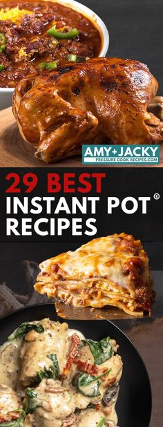 Instant Pot Recipes Amy And Jacky Drumstick - 29 best instant pot recipes 2018 Best Pressure Cooker Recipes, Instant Pot Pressure Cooker, Slow Cooker Recipes, Crockpot Recipes, Chicken Recipes, Cooking Recipes, Instant Cooker, Pressure Cooking, Hot Pot Recipes