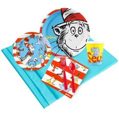 BESTSELLER! Dr. Seuss Just Because Party Pack for 8 $7.00