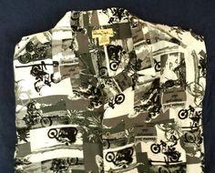 6138790f Panama Jack Motorcycle Club Maui Hawaii Hawaiian Shirt XL Aloha Shirt Rayon  #PanamaJack #Hawaiian