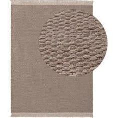 benuta Wollteppich Lana Beige 80150 cm  Naturfaserteppich aus Wolle benuta