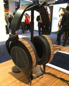 Well, I would be lying if I said the newest entry from Audeze wasn't the talk of the town at CES, at least within the confines of the headphone crowd. The EL-8 (derived from the word elated) will arrive in both closed back and open flavors for the same price, this time around for $699.