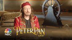 Peter Pan Live! - Christopher Walken Talks Captain Hook (Interview)
