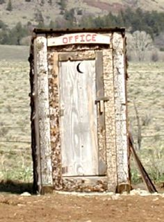 outhouse barn, the office, outhous