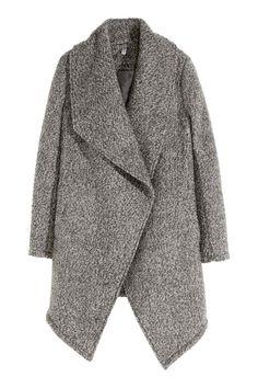 Kabát z vlněné směsi z buklé | H&M