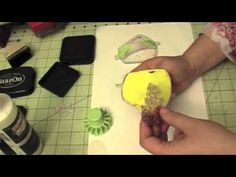 Scrappinmania: Using acrylic stamps with your Inkadinkadoo stamping gears
