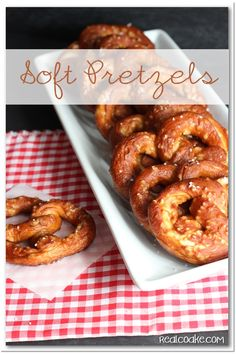 Yummy Soft Pretzel Recipe from realcoake.com