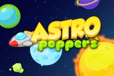 AstroPoppers iOs Game on Behance