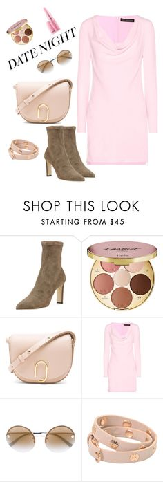 """Be my Baby Tonight"" by boutiquebrowser ❤ liked on Polyvore featuring Jimmy Choo, tarte, 3.1 Phillip Lim, Versace and Tory Burch"