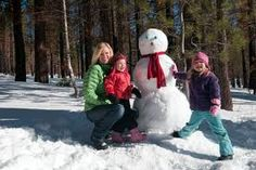 Building a Snowman - It was hard work but the end result was always worth it! ::-)