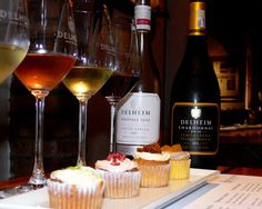 Delheim R75 cake& wine