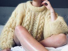 fikside – Strikkeoppskrift: Tovede tøfler Crochet World, Knit Crochet, Crochet Pattern, Knitting Pullover, Raglan Pullover, Drops Baby Alpaca Silk, Free Knitting, Knitting Patterns, Cute Cardigans