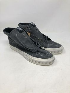 21ed0c533f VANS SK8 HI SLIM OVER WASHED BLUE GRAPHITE HIGH TOP SNEAKERS MEN S SIZE 8.5  NEW  fashion  clothing  shoes  accessories  unisexclothingshoesaccs ...