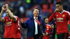 Louis Van Gaal's men are through to the final of the FA Cup after Anthony Martial's injury-time goal sent Manchester United...