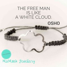 The Quote Collection by MUMoosh, Cloud Collection, Silver Jewellery