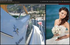Wedding by Boat in Capri? Rent One of Our Yachts!  Web Site: www.amalfisails.com E-Mail: info@amalfisails.it