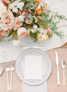 This is the Perfect Palette for a Fresh Garden Wedding