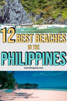 The 12 Best Beaches in the Philippines To Visit Now #Philippines #Boracay | philippines beaches | boracay philippines beaches | philippines beaches paradise | cebu philippines beaches | philippines beaches islands |  philippines beaches beautiful places | philippines beaches photography | manila philippines beaches | philippines beaches sunset | philippines beaches vacations | philippines travel palawan philippines via @Everythingzany Philippines Beaches, Philippines Travel, Boracay Philippines, Manila Philippines, Beautiful Islands, Beautiful Beaches, Travel Couple, Family Travel, Travel Guides