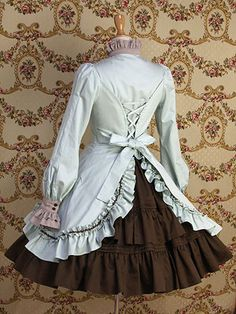 Marymagdalene.jp is the loveliest shop for loli fashion and it has a lot of detail in each wonderful dress