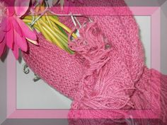 Vintage Pink Hand Knitted Shawl Wrap Very Boho by justjunkin2, $25.00