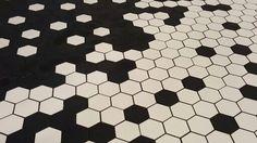 Winckelmans hexagones. Vloertegel zeskant