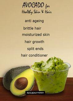 avocado-beauty-recipes- for healthy skin and hair