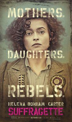 Les Suffragettes, Helena Bonham Carter - affiche