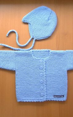 Novita Oy - Neulemalli: Nuttu ja kypärämyssy by reva Crochet Baby, Crochet Bikini, Knit Crochet, Knitting For Kids, Baby Knitting Patterns, Baby Kids, Children, Swimwear, Sweaters
