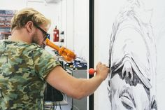 Long Distance Art - One artist, two robots and three paintings in Vienna, Berlin and London