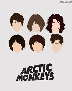 evolution of Alex Turner's hair