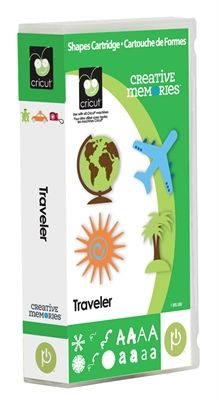 Cricut® Creative Memories™ Traveler Cartridge - Cricut Shop