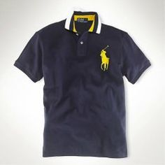 87edd9e845e9 Ralph Lauren Classic-Fit Tipped Big Pony Polo Navy, high quality ralph  lauren clothing