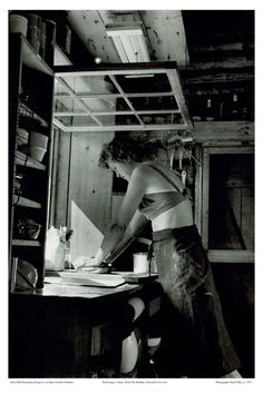 Julia Child photographed by Paul Child, c.1952