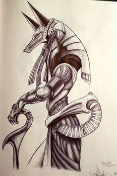 Anúbis, Deus de todas as coisas. Deus da Morte e Funerais