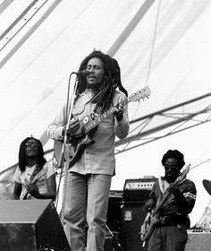 Bob Marley performing at Amandla Festival Cambridge MA July 21, 1979... Pretty good day;)