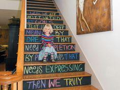 Como decorar tu escalera